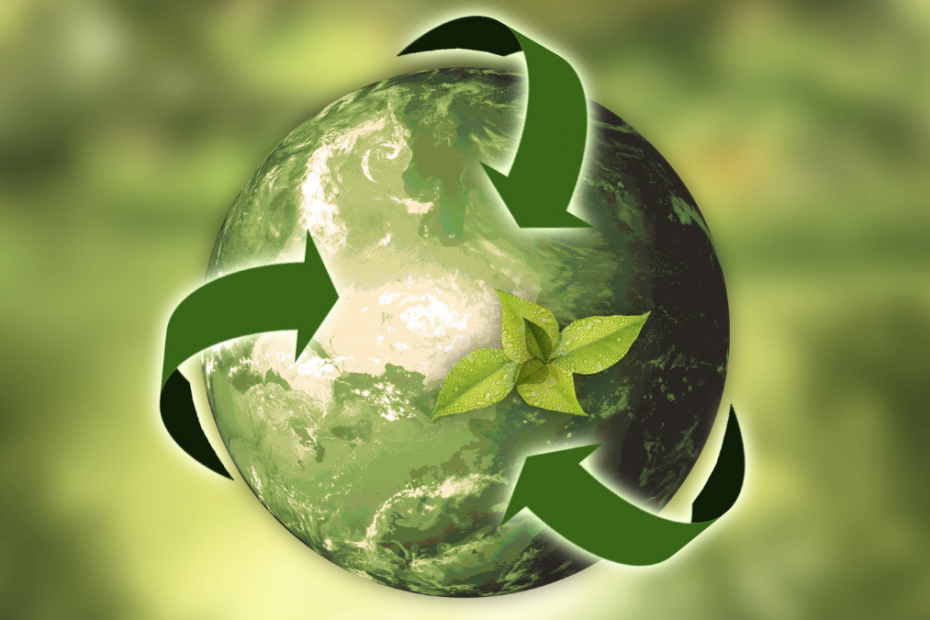 green planet earth recycle