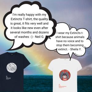 Extincts T-shirts